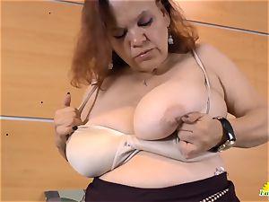 LatinChili hot buxom grannie Solos Compilation