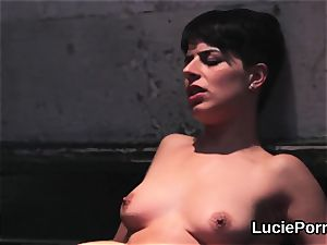 inexperienced girl/girl chicks get their succulent vulvas tongued and torn up