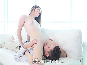 tasty chick Alice March riding that manhood with confidence