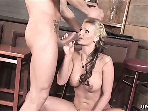 Phoenix doing it all to please her stud with her cooter