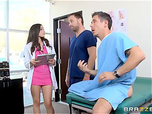 super hot doctor Tiffany star pummels a yam-sized dicked patient