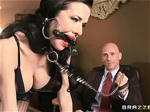 Veronica Avluv gets sloppy in the office and her manager finds out