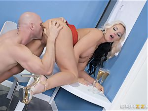 Alena Croft inserted by a fat fuckpole