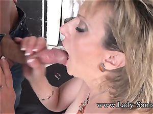 camera operator Face plows Mature female Sonia