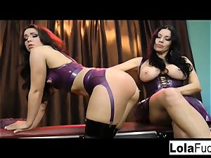 Lola gets dominated and caned