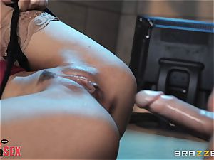 Madison Ivy railing her steamy body on top