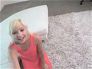 19yr elder platinum-blonde nympho NVG Calendar dame